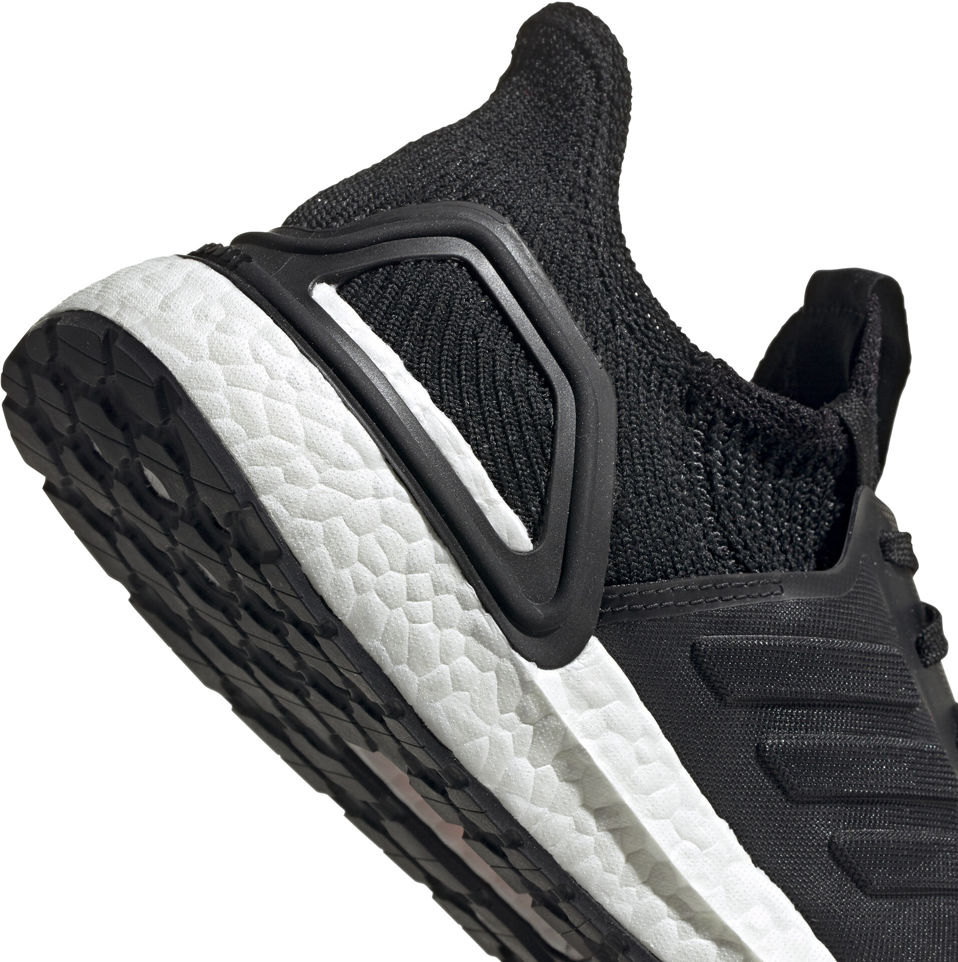 adidas Ultraboost 19 Chaussures basses Homme, core blackglossy bluecore black